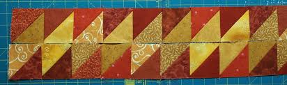 10 Border Designs Made With Half Square Triangles - Part 1 ... & Parallelogram Border Adamdwight.com