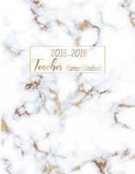 Teacher Organizer Planner 2018 2019 Teacher Planner Notebook My 365 Happy Daily
