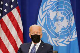 At U.N., Biden promises 'relentless diplomacy,' not Cold War