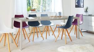 colourful dining chairs grey gloss extending and dining chair set tabl on trendy seater dining set