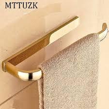 bathroom towel holders golden rose golden brass towel holder towel ring bathroom towel shelf ring free