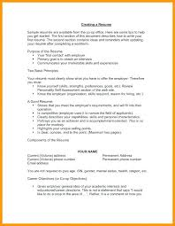 Resume After First Job Whats A Good Resume 7 Whats A Good Objective