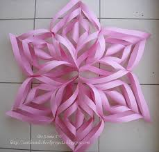 Chart Paper Flower Making Cards Crafts Kids Projects Spectacular Paper Flower Star