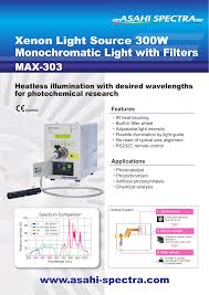 Xenon Light Source 300w Monochromatic Light With Filters Manualzzcom