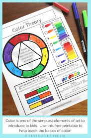 Choose your sunday or monday start calendar and. Printable Color Wheel An Intro To Color Theory For Kids The Kitchen Table Classroom