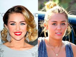 miley syrus without makeup
