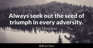 Quotes About Overcoming Adversity Beauteous Adversity Quotes BrainyQuote