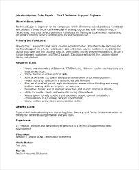 Inspiring Technical Support Job Description Resume 52 About Remodel Resume  Template Microsoft Word with Technical Support Job Description Resume