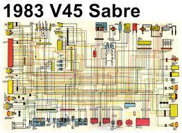 "83 honda vf750 sabre ""fashionably late "" 83v45sabrecolorschematic"