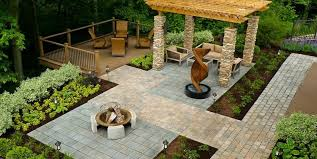 backyard landscaping design. Unique Landscaping Wheelchair Accessible Backyard Landscaping The Cornerstone  Landscape Group Fort Wayne IN For Design A