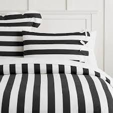 black and white striped duvet. Simple Striped The Emily U0026 Meritt Pajama Stripe Duvet Cover TwinTwin XL Black And Black White Striped T