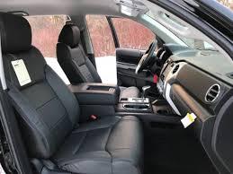 2016 2017 toyota tundra crewmax katzkin black leather seats kit new sr5 trd