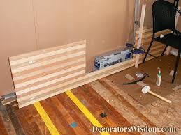 reclaimed wood countertops diy