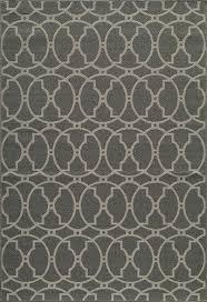 designers image beachcomber grey indoor outdoor area rug 1 8