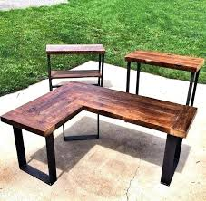 diy l desk amazing desk wood l desk find this pin and more on for the