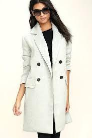 wool coat with hood grey wool coat fur hood womens wool coat with fur hood