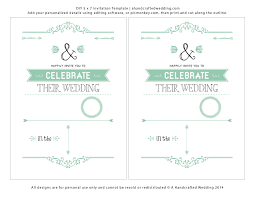 Download Free Wedding Invitation Templates For Word Invitation Word Templates Free Word Invitation Templates Free 5