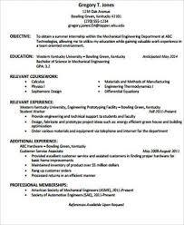 Sample Resume Objective Statements Worthy Photo Engineering