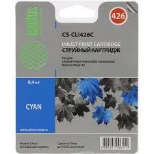 <b>Картридж Cactus CS</b>-<b>CLI426C</b> Голубой (<b>Cyan</b>) — купить в городе ...