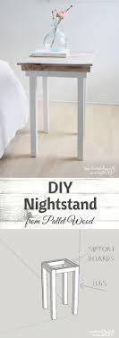 Diy Nightstand Best 20 Diy Nightstand Ideas On Pinterest Crate Nightstand