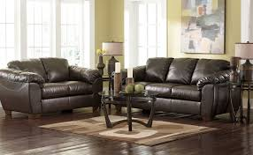 North Shore Living Room Set Ashley Leather Sofa Ashley North Shore Leather Loveseat Dark