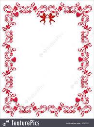 valentine heart frame. Interesting Heart Valentine Frames 3D Illustration Ornamental Frame For Valentines Day  Background Or Border With Copy Space In Heart Frame G