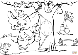Small Picture Elephant Loves Boxing Workout coloring page Free Printable