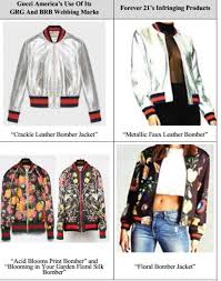 excerpts from gucci s answer displaying the clothing at issue are shown below with additional examples here and here