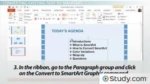 How To Convert Text To Smartart In Powerpoint
