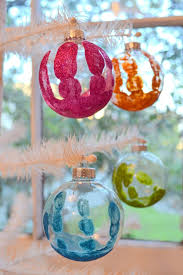 Decorating Clear Christmas Balls Magnificent 32 DIY Crafts Featuring The Simple Christmas Ball Ornament