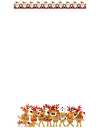 Printable Christmas Stationery For Christmas Letters Download Them