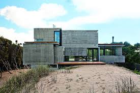 Modern industrial homes House Plans Concrete House With Industrial Features On The Beach By Bak Architects Freshomecom Concrete House With Industrial Features On The Beach By Bak