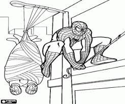 While i am here, the city is safe! Spiderman Or Spider Man Coloring Pages Printable Games