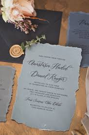grey invitation jewel tones