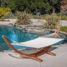 free standing hammock. Beautiful Free Amazoncom  Weston Larch Wood U0026 Canvas Hammock W Stand Garden Outdoor In Free Standing G
