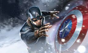 Avengers Captain America Fotobehang Behang Bestel Nu Op