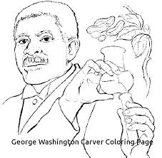 T Worksheet Coloring Pages George Washington Carver Sheets Printable