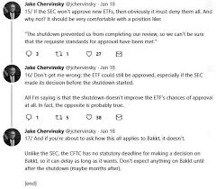 Sec publishes vaneck's bitcoin etf application, kicking off decision clock the regulator now has 45 days to approve or deny the application or extend the review period. Vaneck Unfazed By Shutdown S Impact On Bitcoin Etf Application