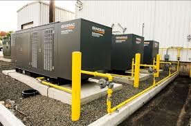 generac industrial generators. Unique Generac Generac Power Generators Installed On Industrial