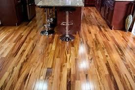 tigerwood plank room kitchen hardwood flooring