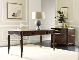 home office writing desks. Hooker Furniture Home Office Rope Moulded Double Pedestal Desk With Leather Writing Surface And 2 Locking File Drawers | Wayside Desks I
