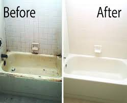 reglaze bathtub bathtub refinishing porcelain fiberglass repair for how to refinish plans reglaze bathtub yourself reglaze bathtub