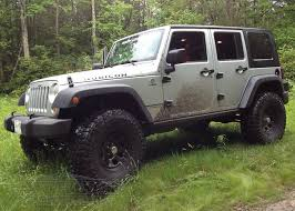 good jk with a in suspension lift kit with jeep rubicon lifted 4 door black
