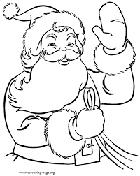 Small Picture Santa Claus Coloring Pages Printable Picture Archives gobel