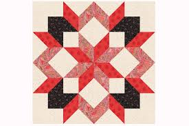 Design a Quilt With These Free Quilt Block Patterns & Use Easy Techniques to Sew Carpenter's Star Quilt Blocks Adamdwight.com