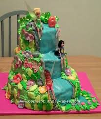 Coolest Tinkerbell And Friends Cake Design