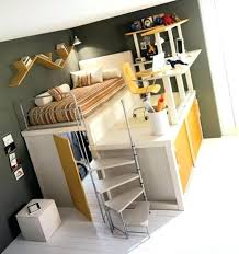 loft bed with closet underneath plans under desk