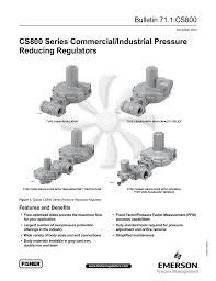 cs800 series commercial industrial pressure reducing regulators Fisher Plow Wiring Harness Diagram at Fisher 28900 Wiring Diagram