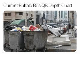 Bills Qb Depth Chart Current Buffalo Bills Qb Depth Chart Buffalo Bills Meme On