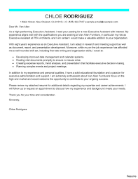 office assistant cover letter leading professional executive assistant cover letter examples